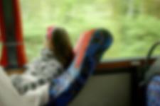 Metro turizm skandalı muavin mini etekli kadını görünce