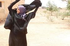 O şehir IŞİD'ten temizlendi kara çarşaf gitti!