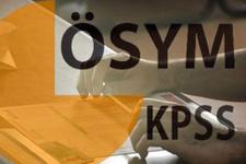 KPSS 2016 ÖSYM'den son açıklama