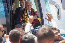 Başbakan Yıldırım'a memleketinde coşkulu karşılama!