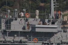 Rus gemisi uçaksavarla geçti!