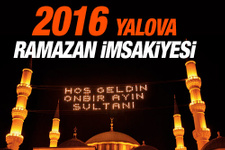 Yalova iftar vakti 8 Haziran 2016 imsakiye