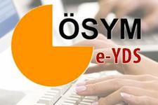 E-YDS giriş yerleri ÖSYM'den son açıklama