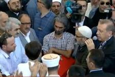Erdoğan cenaze töreninde konuştu! Açık açık uyardı