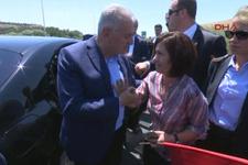 Başbakan'a: Bir oğlum var size kurban olsun
