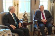 Başbakan Yıldırım, CHP Genel Başkanı Kılıçdaroğlu ile görüştü