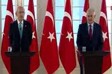 Başbakan Yıldırım ve Kemal Kılıçdaroğlu'ndan ortak basın toplantısı