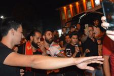 Erkan Zengin'e coşkulu karşılama