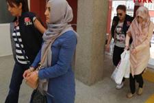 Gülen'in akrabası abla bakın nasıl yakalandı! Polis o anda bastı