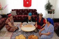 Ahıska Türkleri bayrama hazırlanıtor