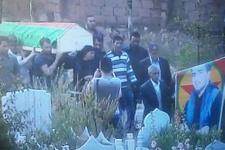 HDP milletvekilleri PKK'lının cenaze töreninde