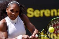 Serena Williams finale çıktı