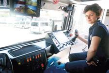 Türkiye'nin TOMA kullanan tek kadın polisi