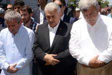 Başbakan Yıldırım Kocaeli'de cenaze törenine katıldı