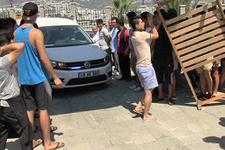 Personel lüks oteli işgal etti turistler kaçtı!