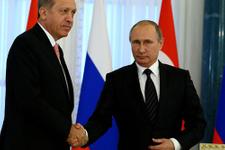 Erdoğan ile Putin Cerablus operasyonunu görüştü