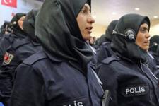 Kadın polislere başörtü yasağı kalktı