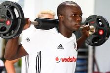 Aboubakar Beşiktaş'ta ilk idmanına çıktı