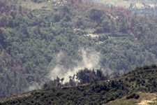 Esed rejimi Türkmen Dağı'nı bombaladı