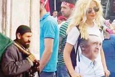 Ahmet Hakan yazdı cübbeli ile sarışın kız
