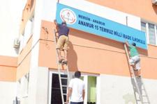 Bakanlığa devredilen FETÖ okulları yenilendi