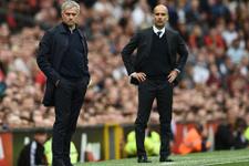 Guardiola ile Mourinho yine rakip oldular