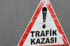 Manisa Turgutlu'da trafik kazası: 9 yaralı
