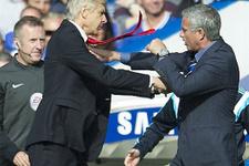 Arsene Wenger ile Mourinho birbirine girdi