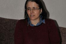 Görme engelli Reyhan öğretmen zafere ulaştı