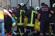 Küçük çocuk babasının işyerinde yanarak öldü