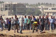 Sınırındaki Kobanili göstericiler Valiyi kızdırdı!