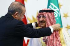 Erdoğan'dan Prense Cumhuriyet nişanı!
