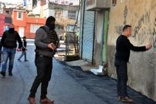 Polis PKK'yı öven duvar yazılarını tek tek sildi