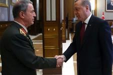Erdoğan Orgeneral Akar'ı kabul etti!