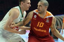 Galatasaray Euroleague'de rakibine şans tanımadı