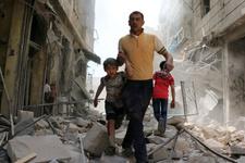 İdlib'de pazar yerine saldırı