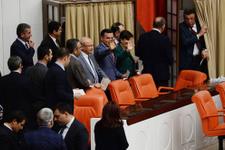 CHP'li vekillerden Meclis'te gece yarısı çok ilginç eylem!