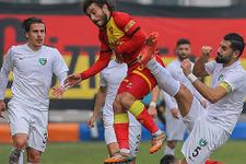 Gol düellosunun galibi Denizlispor!