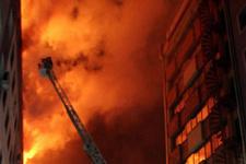 Kayseri'de belediye binasında yangın