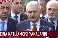 Başbakan Binali Yıldırım: Alçak terörist yakalandı