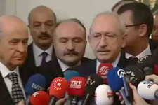 Kılıçdaroğlu'ndan Bahçeli ile görüşme sonrası açıklama