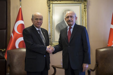 Kılıçdaroğlu-Bahçeli görüşmesinde ne konuşuldu detaylar sızdı!