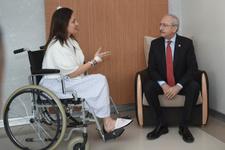 Kılıçdaroğlu'ndan Şafak Pavey'e ziyaret