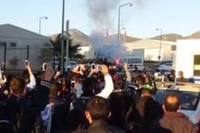 Beşiktaş'a Alanya'da şok protesto