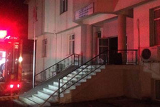 Manisa'da öğrenci yurdunda yangın çıktı!
