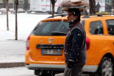 Çok kuvvetli kar yağışı dikkat hava durumu kötü