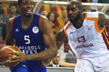 Anadolu Efes Avrupa'da Galatasaray'ı tanımadı