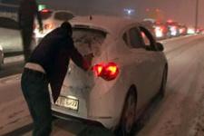 Kar İstanbullular için çileye dönüştü