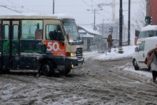 İstanbul ilçelerinde son durum kar 40 cm