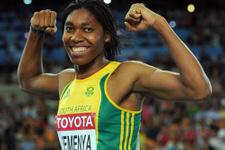 Cinsiyeti tartışma konusu olan atlet dünya evine girdi